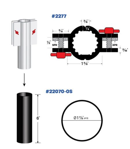 Legacy Interlocking Flood Shield for Oversized Openings 2277_22070