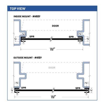 Legacy Interlocking Flood Barrier For Over-sized Doors 5027_5127