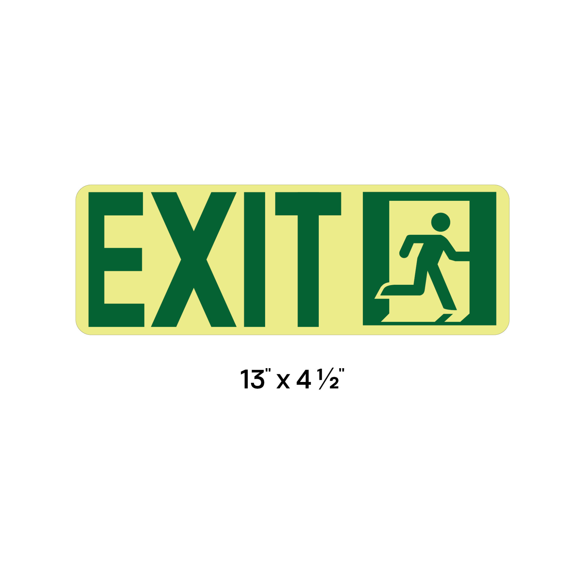 exit sign installation instructions