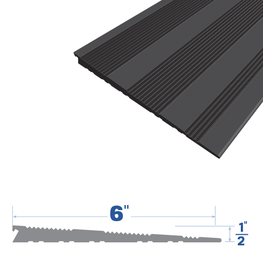Rubber Extrusion ramp